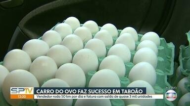 Cosumo de ovos sobe e abre portas para novos negócios - Carro do ovo vende quase 3 mil unidades por dia em São Paulo