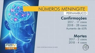 Especialista fala sobre possíveis casos de meningite em Pernambuco - Secretaria Estadual de Saúde notificou 42 casos de meningite meningogócica.