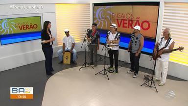 Os Irmãos Macêdo são os convidados do Bahia Meio Dia desta sexta (18) - Os artistas cantaram vários sucessos no programa.