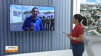 Comitiva interministerial está em Pacaraima, Norte de Roraima - Ministros estão conhecendo as ações da Operação Acolhida no apoio a imigrantes venezuelanos no município.