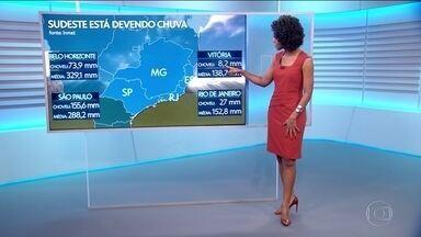 Veja a previsão do tempo para o sábado - Chuva persiste em algumas regiões do país; mas no Sudeste a estiagem começa a preocupar.
