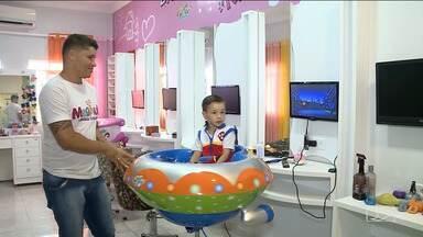 Mercado de produtos e serviços infantis cresce em Imperatriz - Empreendimentos como salão de beleza e academia conquistam cada vez mais os púbicos adulto e infantil.