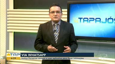 Justiça do Pará começa a usar aplicativo de mensagens para fazer intimações - A utilização do aplicativo como ferramenta para intimações foi aprovado pelo Conselho Nacional de Justiça (CNJ).