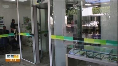 Banco que sofreu tentativa de roubo em Pancas, ES, volta a funcionar - Agência em Lajinha de Pancas ficou fechada por mais de um mês.