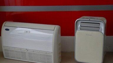 Cerca de 50% do preço de um ar-condicionado no Alto Tietê é de imposto - Produto é um dos mais vendidos durante esta época de altas temperaturas.