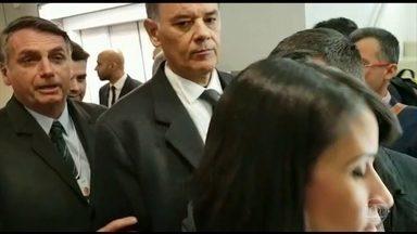 Jair Bolsonaro se reúne com chefes de governo e empresários em Davos - O presidente também daria uma entrevista coletiva, mas o evento foi cancelado na última hora.