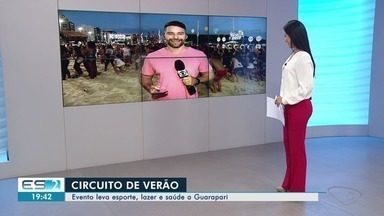 Circuito de Verão da TV Gazeta chega à Praia do Morro, em Guarapari, ES - Programação conta com esportes, brincadeiras e distribuição de brindes neste sábado (26).
