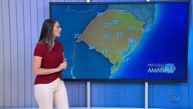 Terça-feira (29) deve ser com sol e temperaturas altas no RS - Assista ao vídeo.
