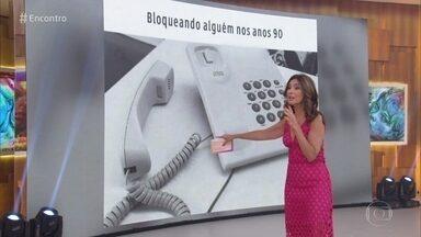 Programa relembra cultura e costumes dos anos 90 - Fátima mostra memes inspirados nos problemas da década que será abordada na novela 'Verão 90'