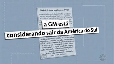 Anúncio de medidas para superar crise preocupa funcionários da GM em Gravataí - Sindicato deve se reunir com a direção da empresa nesta terça-feira (29), em São Paulo, para debater as mudanças. Categoria ainda planeja uma manifestação em frente à planta de Gravataí.