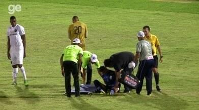 Veja a lesão de Manoel no joelho - Veja a lesão de Manoel no joelho