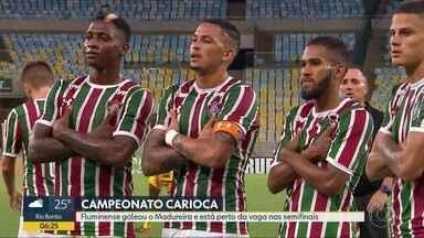 Flu goleia Madureira - Vitória por 4 a 0 deixa time com uma mão na vaga para as semifinais da Taça Guanabara.