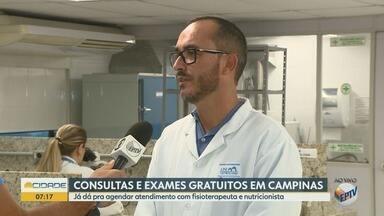 Faculdade oferece consultas e exames gratuitos com fisioterapeuta e nutricionista - Instituição oferece ainda exames laboratorias.