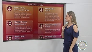 Moradores denunciam problemas em Bom Jesus dos Perdões, Taubaté e Bragança Paulista - Confira a participação do público no Bom Dia Vanguarda.