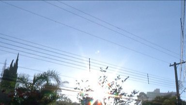 Cidades do Alto Tietê devem ter temperatura acima dos 30 graus - Mogi, Suzano e Guararema devem ter temperatura máxima de 34 graus.