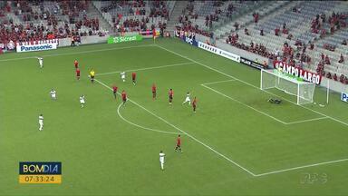 Coritiba vence o Athletico na Arena da Baixada - O jogo foi 2 a 1.