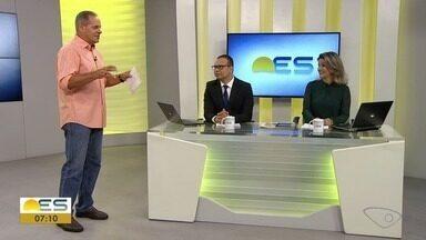Comentarista de esporte do ES, Paulo Sérgio traz os destaques dos campeonatos - Veja os destaques do comentarista.