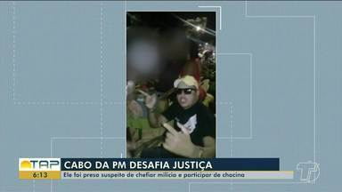 Capo da PM é preso pela segunda vez suspeito de chefiar milícia em Belém - Ele também estaria envolvido em uma chacina na capital em 2017.