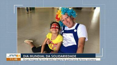 Voluntários de RR celebram o Dia Mundial da Solidariedade - Grupo Amigos do Sorriso é exemplo de pessoas empenhadas em ajudar ao próximo.
