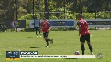 Após três jogos sem gols, Ponte Preta mostra evolução no esquema de jogo - A vitória sobre o Mirassol tem muitos motivos para a Macaca comemorar.