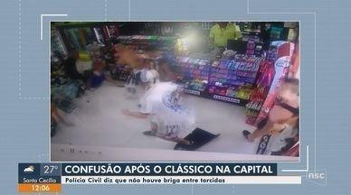 Briga em posto de combustível de Florianópolis não foi entre torcidas, diz Polícia Civil - Briga em posto de combustível de Florianópolis não foi entre torcidas, diz Polícia Civil