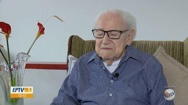 Dramaturgo Waldir de Luna Carneiro morre aos 97 anos no Sul de MG - Dramaturgo Waldir de Luna Carneiro morre aos 97 anos no Sul de MG
