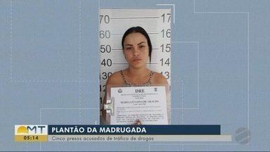 Cinco presos acusados de tráfico de drogas - Cinco presos acusados de tráfico de drogas