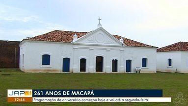 Festa de 261 anos de Macapá terá mais de 70 atrações culturais - Aniversário da capital amapaense é na segunda-feira (4), mas celebrações começam nesta sexta-feira (1º).