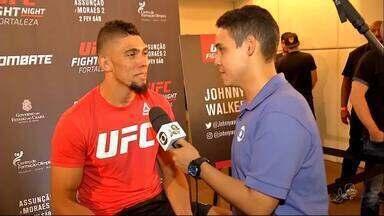 Veja como foi o Media Day do UFC Fortaleza - Confira com Caio Ricard