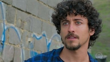Jerônimo topa participar de um assalto com Tutano - Ele diz que vai usar o dinheiro que ganhar no assalto para se mudar para o Rio de Janeiro