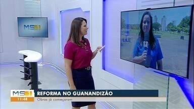 Autorizada reforma do Ginásio Guanandizão, em Campo Grande - Obras começaram na manhã desta sexta-feira (1).