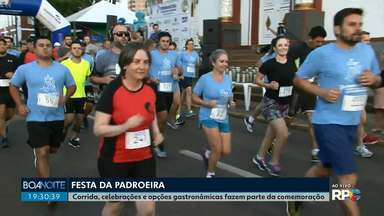 Corrida movimenta fiéis em comemoração a Nossa Senhora de Belém - A atividade faz parte da festa da padroeira de Guarapuava.