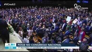 Deputados federais e senadores eleitos no Pará assumem cargos em Brasília - A bancada paraense na Câmara é composta por 17 deputados.