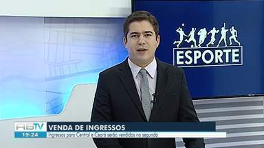 Central joga na 1ª fase da Copa do Brasil na próxima quarta-feira (6) - Ingressos serão vendidos por R$ 30.
