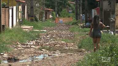 Chuvas fazem estragos em bairros da região metropolitana de São Luís - Segundo a meteorologia, a previsão é de mais chuva para este mês.