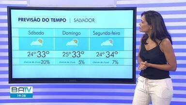 Previsão do tempo: homenagens do dia de Iemanjá devem ser marcadas por sol forte e calor - Possibilidade de chuva é reduzida neste fim de semana.