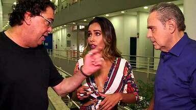 Casagrande e Luís Roberto comentam vitória no 'Super Ding Dong' - Assista!