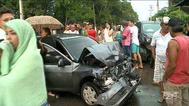 Acidentes automobilísticos são registrados no fim de semana no Maranhão - Um dos acidentes foi registrado entre dois carros, sendo que um vinha em direção a São Luís e o outro que ia no sentido da cidade de Rosário.