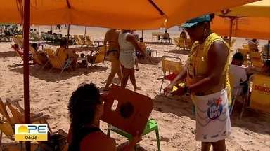 Praia Limpa: domingo é dia de sol e cuidado com o meio ambiente - Canmpanha é parceria da Prefeitura do Recife com a TV Globo.