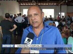 Reunião em Felixlândia debate impactos da possível chegada da lama de rejeitos de minério - Análise da água do rio Paraopeba é considerada imprópria para consumo humano.