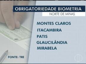 Eleitores de cinco cidades do Norte de Minas precisam fazer cadastro biométrico - Cadastro é necessário para participação nas próximas eleições.