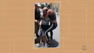 Após furto, lutadora de jiu-jitsu imobiliza homem em Caxias do Sul - Assista ao vídeo.
