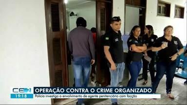 900 apartamentos são vistoriados e 12 pessoas detidas - Operação prendeu até um agente penitenciário, suspeito de ter ligação com facção criminosa
