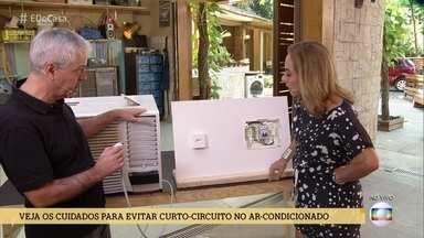 Engenheiro eletricista mostra como prevenir curto-circuito no ar condicionado - Incêndio que vitimou atletas das categorias de base do Flamengo tem com como provável causa um problema elétrico