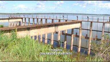 Sucateamento das compostas do sistema de irrigação preocupa comunidade para desabamento - Sucateamento das compostas do sistema de irrigação preocupa comunidade para desabamento