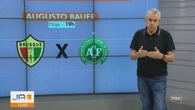 Roberto Alves comenta sobre os jogos do Campeonato Catarinense - Roberto Alves comenta sobre os jogos do Campeonato Catarinense