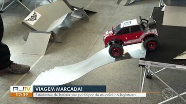 Estudantes de Itatiaia representarão o Brasil no desafio Quatro por Quatro, na Inglaterra - Cinco jovens de uma escola pública do município desenvolveram um protótipo de carro e venceram a etapa nacional no fim de 2018.