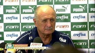 Palmeiras faz rodízio para a partida de segunda contra o Bragantino - Palmeiras faz rodízio para a partida de segunda contra o Bragantino