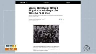 Central se prepara para enfrentar o Afogados no Campeonato Pernambucano - Partida será realizada no Lacerdão.
