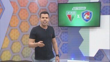 Domingo tem Operário-VG e Araguaia, o tricolor quer manter a liderança do Estadual - Domingo tem Operário-VG e Araguaia, o tricolor quer manter a liderança do Estadual.